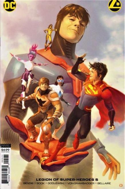 DC Comics Legion of Super-Heroes, Vol. 8 #5B Comic Book