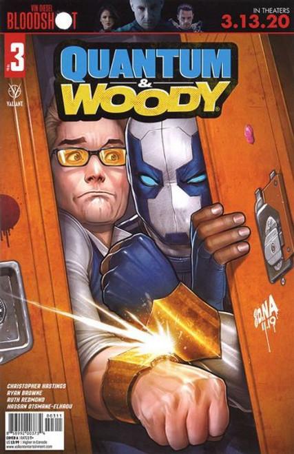 Valiant Comics Quantum & Woody, Vol. 4 #3A Comic Book