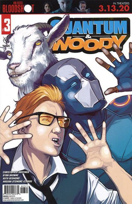Valiant Comics Quantum & Woody, Vol. 4 #3B Comic Book