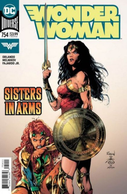 DC Comics Wonder Woman, Vol. 5 #754A Comic Book