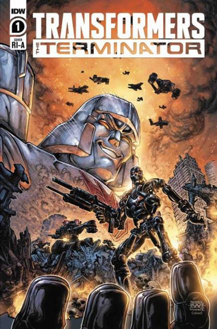 IDW Publishing Transformers Vs Terminator #1C Comic Book