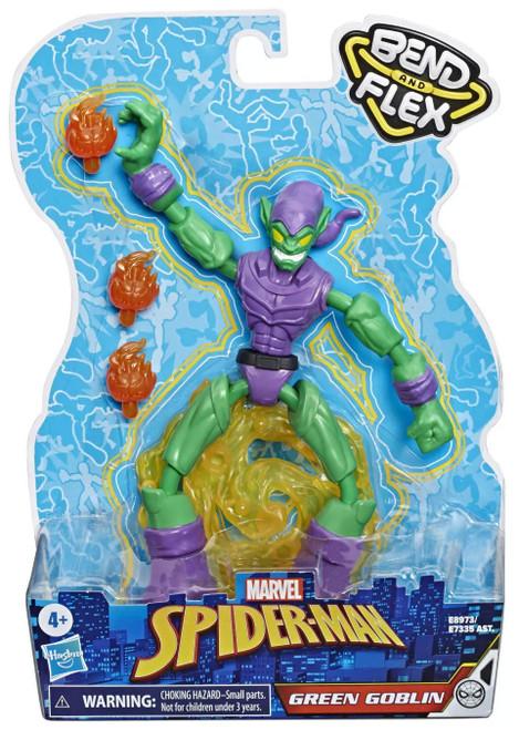 Marvel Spider-Man Bend & Flex Green Goblin Action Figure