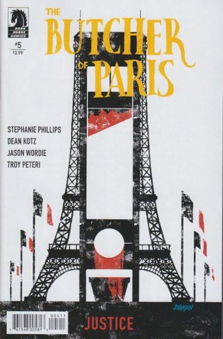 Dark Horse Comics The Butcher of Paris #5 Comic Book
