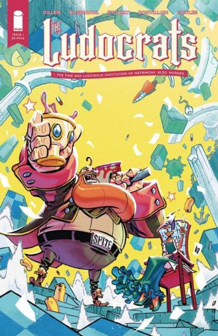 Image Comics Ludocrats #1A Comic Book