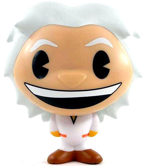 Back to the Future BHUNNY Doc Brown 4-Inch Stylized Figure