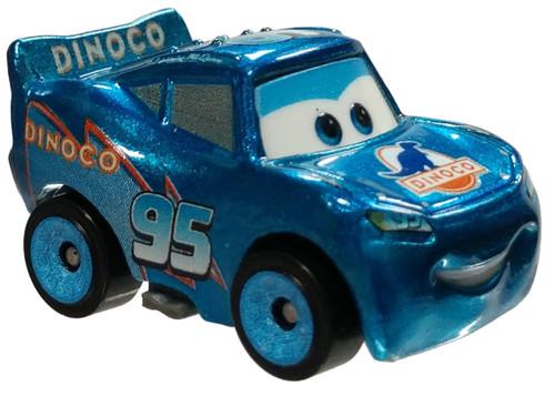 Disney Cars 3 Metal Mini Racers Series 4 Metallic Dinoco Lightning Mcqueen Die Cast Car [Loose]