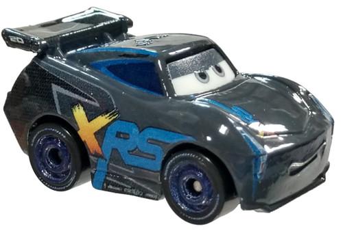 Disney Cars 3 Metal Mini Racers Series 4 XRS Jackson Storm Die Cast Car [Loose]