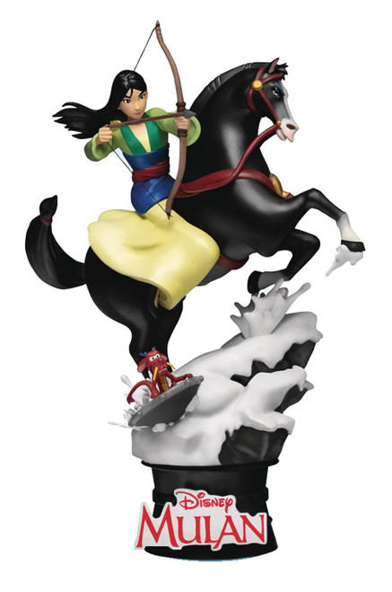 Disney D-Select Mulan 6-Inch Diorama Statue DS-055 (Pre-Order ships January)