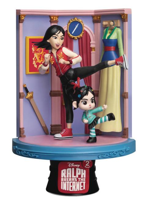 Disney Wreck-It Ralph 2: Ralph Breaks the Internet D-Stage Mulan 6-Inch Diorama Statue DS-054