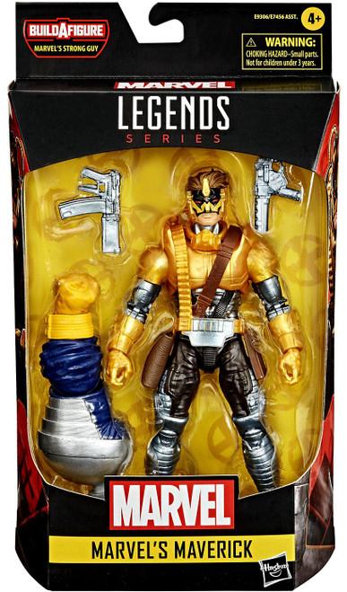 Deadpool Marvel Legends Strong Guy Series Maverick Action Figure