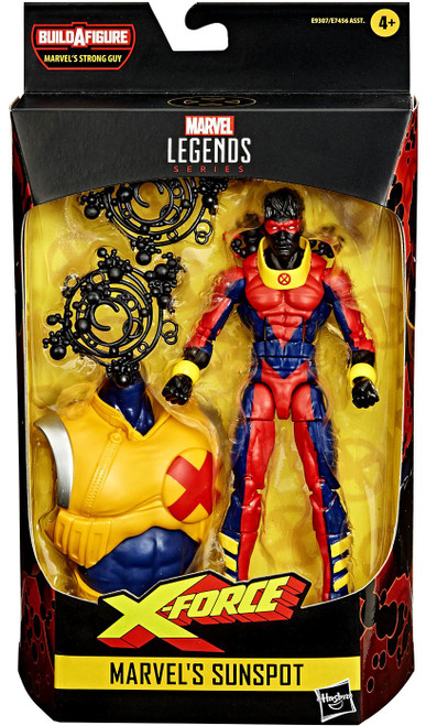 X-Force Marvel Legends Strong Guy Series Sunspot Action Figure