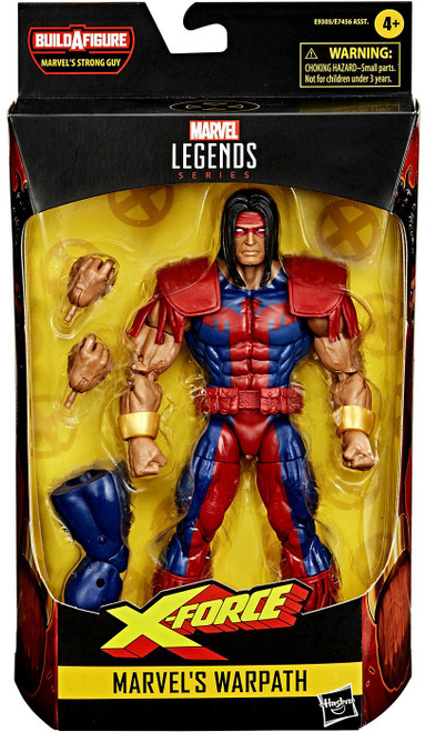 X-Force Marvel Legends Strong Guy Series Warpath Action Figure