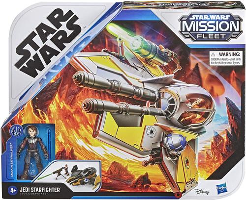 Star Wars Mission Fleet Anakin Skywalker & Jedi Starfighter Vehicle & Action Figure