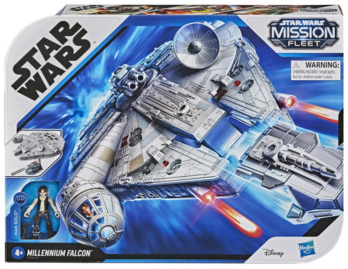 Star Wars Mission Fleet Millennium Falcon 2.5-Inch Deluxe Vehicle