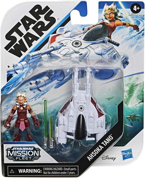Star Wars Mission Fleet Ahsoka Tano with Speeder 2.5-Inch Micro Vehicle