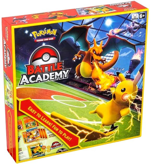 Pokemon Trading Card Game Battle Academy Box [3 Complete Decks Featuring Charizard, Mewtwo & Raichu]