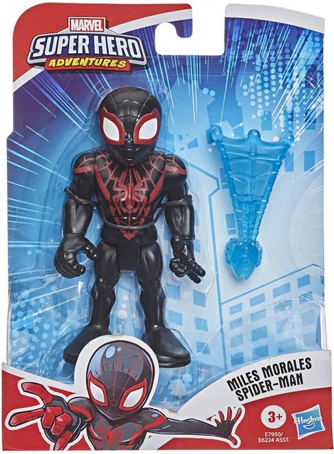 Marvel Playskool Heroes Super Hero Adventures Kid Arachnid Action Figure Set