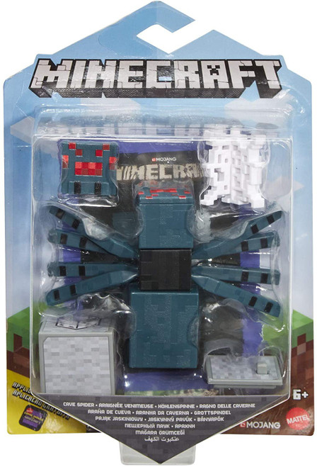 Minecraft Comic Maker Cave Spider Action Figure