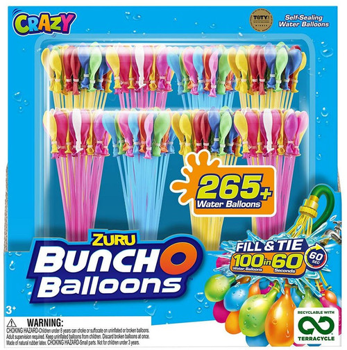 Bunch O Balloons Crazy 265-Pack