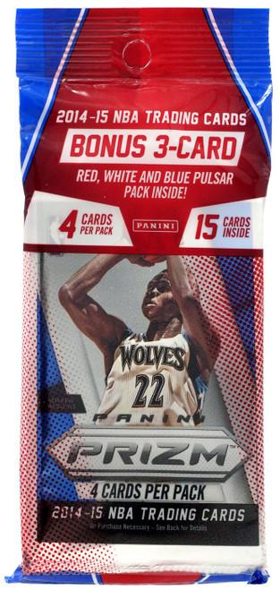 NBA Panini 2014-15 Prizm Basketball Trading Card Value Pack