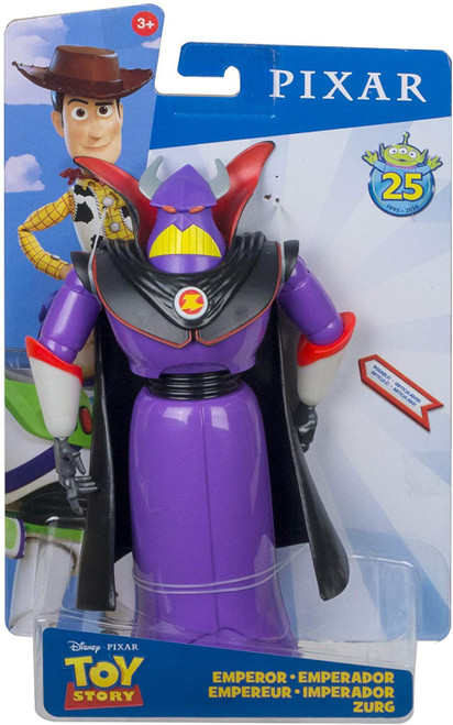 Toy Story 4 Posable Emperor Zurg Action Figure [25th Anniversary]