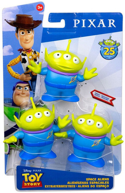 Toy Story 4 Posable Space Aliens Action Figure [25th Anniversary]
