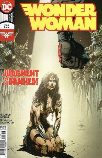 DC Comics Wonder Woman, Vol. 5 #755A Comic Book
