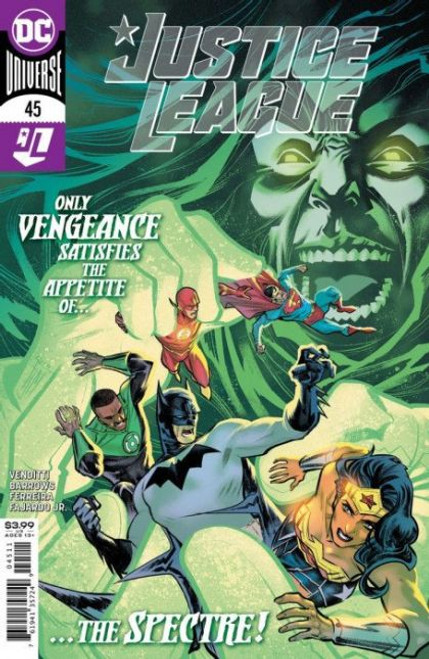 DC Comics Justice League, Vol. 3 #45A Comic Book