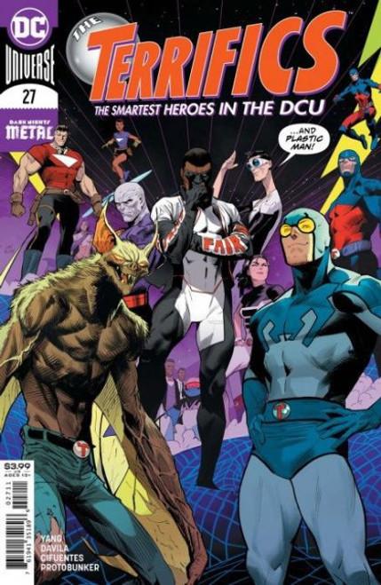 DC Comics Terrifics #27 Comic Book