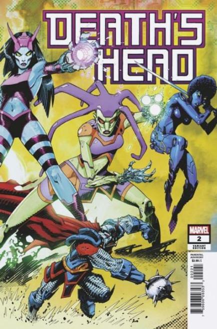 Marvel Death's Head, Vol. 2 #2B Comic Book