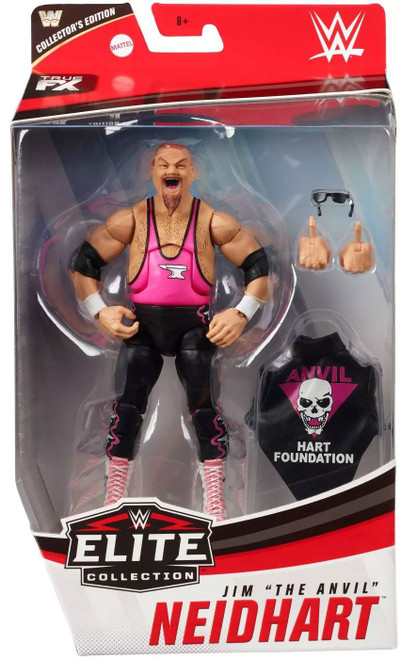 """WWE Wrestling Elite Collection Series 74 Jim """"The Anivl"""" Neidhart Action Figure [Collector's Edition]"""