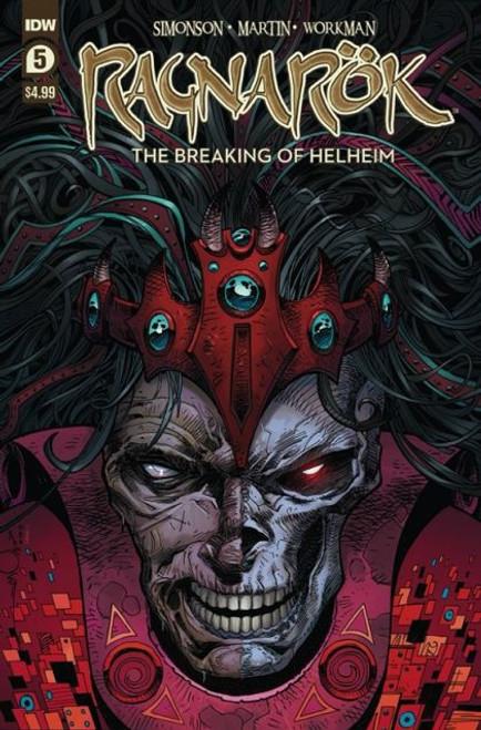 IDW Publishing Ragnarok: Breaking Of Helheim #5A Comic Book