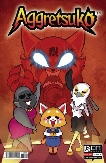 Oni Press Aggretsuko #3B Comic Book