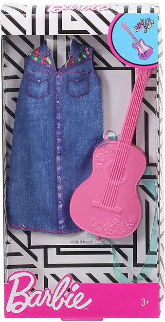 Barbie Career Outfit Musician Look With Guitar