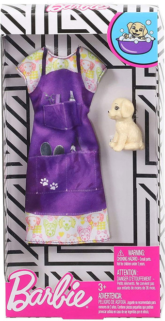 Barbie Career Outfit Pet Groomer With Puppy