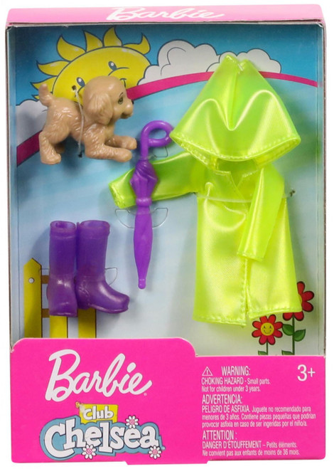 Barbie Club Chelsea Rainy Day Accessory Pack