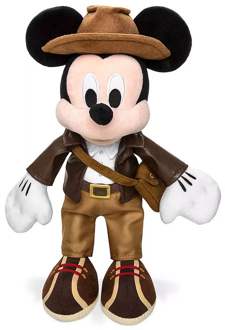 Disney Adventureland Mickey Mouse Exclusive 13-Inch Plush