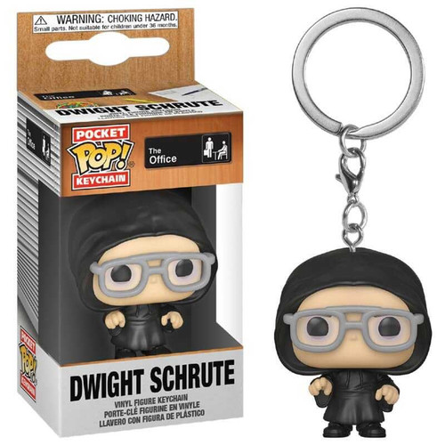 Funko The Office POP! Keychain Dwight as Dark Lord Vinyl Figure Keychain