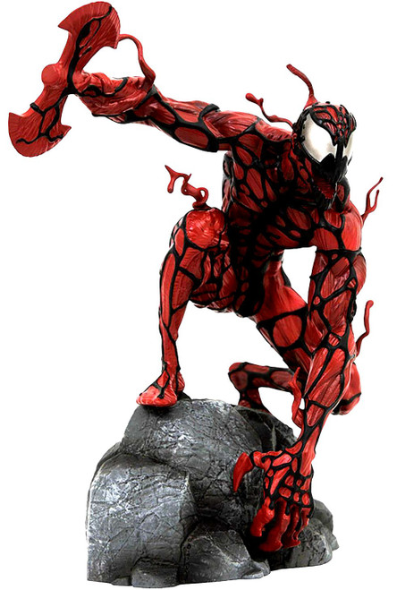 Marvel Gallery Carnage Exclusive 9-Inch Collectible PVC Statue [Glow-in-the-Dark Eyes]