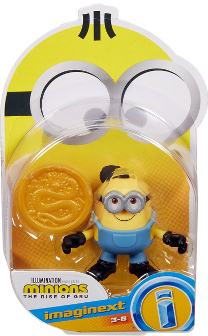 Fisher Price Despicable Me Minions: Rise of Gru Imaginext Otto with Coin Mini Figure
