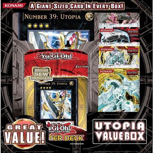 YuGiOh Utopia Value Box