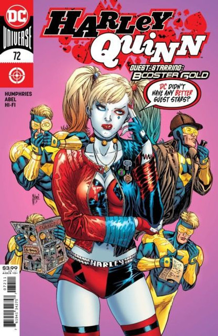 DC Comics Harley Quinn, Vol. 3 #72A Comic Book