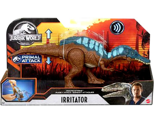 Jurassic World Primal Attack Irritator Action Figure [Sound Strike]