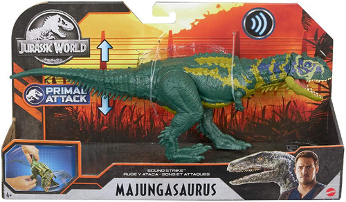 Jurassic World Primal Attack Majungasaurus Action Figure [Sound Strike]