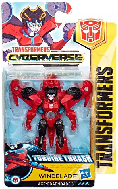 Transformers Bumblebee Cyberverse Adventures Action Attackers Windblade Scout Action Figure [Turbine Thrash]