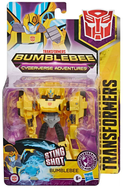 Transformers Cyberverse Adventures Bumblebee Warrior Action Figure