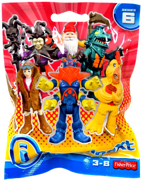Fisher Price Imaginext Series 6 Collectible Figure Mystery Box [36 Packs, Regular Series]