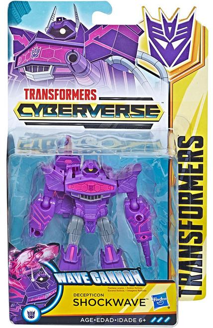 Transformers Bumblebee Cyberverse Adventures Shockwave Warrior Action Figure