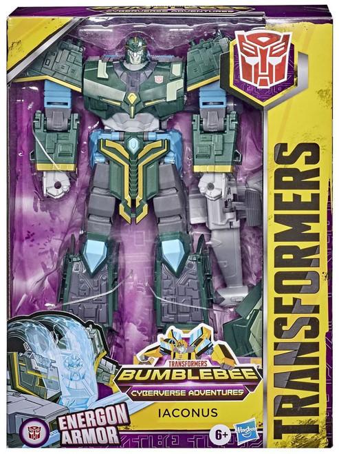Transformers Cyberverse Iaconus Ultimate Action Figure [Energon Armor]