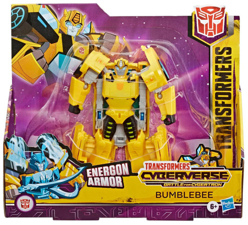 Transformers Cyberverse Battle for Cybertron Bumblebee Ultra Action Figure